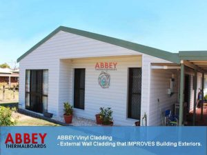 Vinyl Cladding Exterior Wall ABBEY THERMALBOARDS