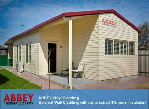 Vinyl House Cladding by ABBEY Cladding