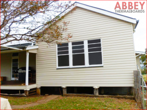 House Exterior After Modern Vinyl Cladding - Abbey Thermalboards