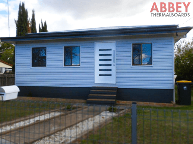 gympie house vinyl cladding abbey thermalboards