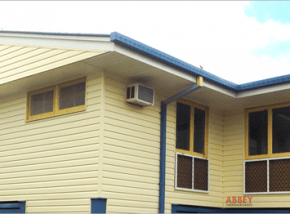 Vinyl Cladding on Wall Exterior Abbey Thermalboards