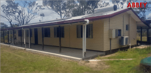 Abbey-Thermalboards, Vinyl-Cladding for House in Cawarral After (Left)