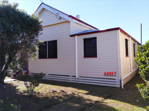 Abbey Thermalboards, Vinyl Cladding House in Maryborough, Front. Completed June 2019