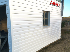 Vinyl-Cladding-Shed-Abbey-Thermalboards-Maryborough