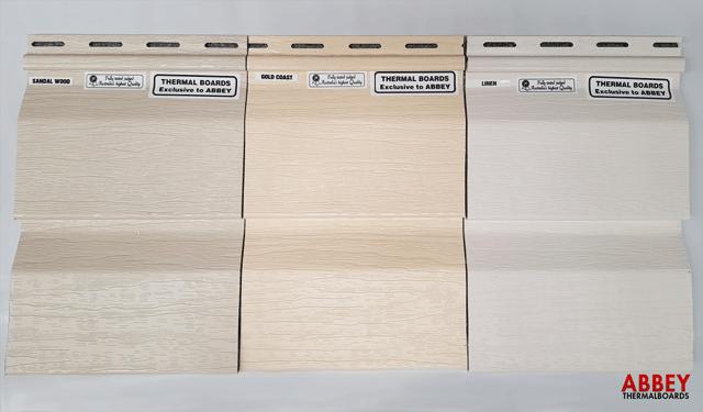 Vinyl Cladding Sandalwood Gold Coast Linen