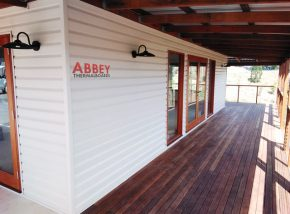 ABBEY Vinyl Cladding Brisbane New Home