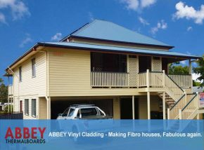 Vinyl Cladding - Rockhampton House by ABBEY Cladding