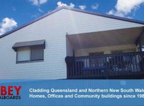 ABBEY Vinyl Cladding - Brisbane Home
