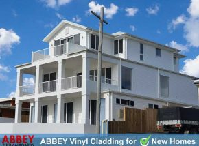 Scarborough 3 Storey New Home Vinyl Cladding by ABBEY Cladding