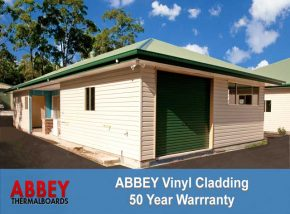 Vinyl Cladding of New Home by ABBEY Cladding