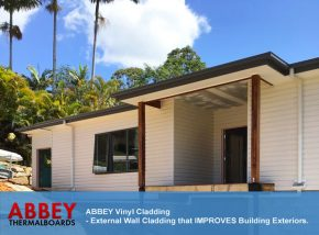 Vinyl Cladding - Mackay House by ABBEY Cladding