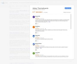 Abbey Thermalboards Google Review