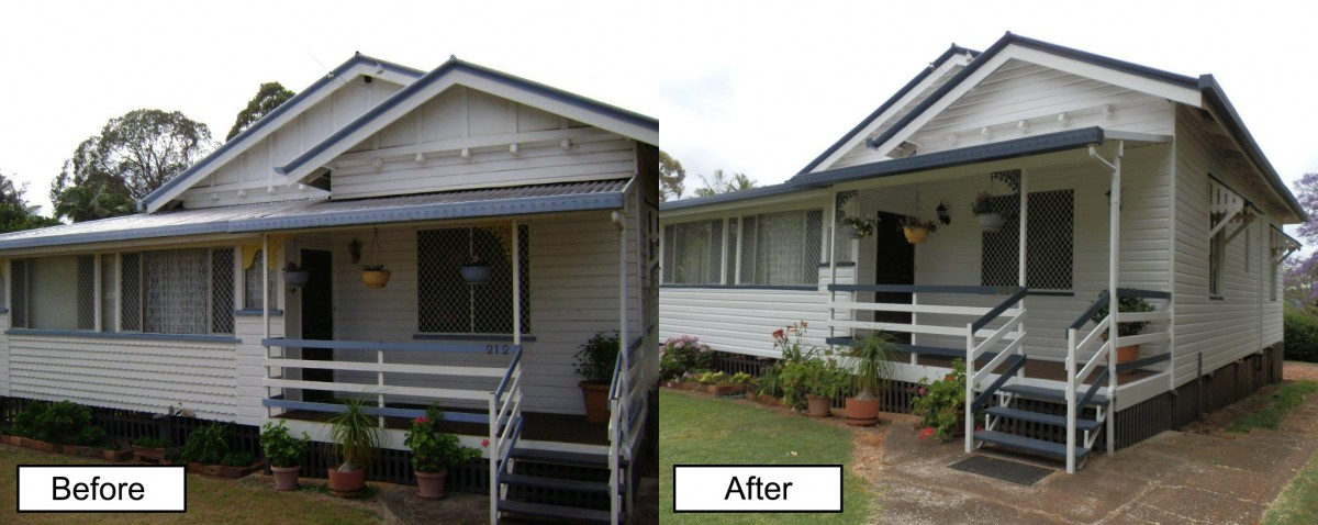 Cladding completed in Cairns.