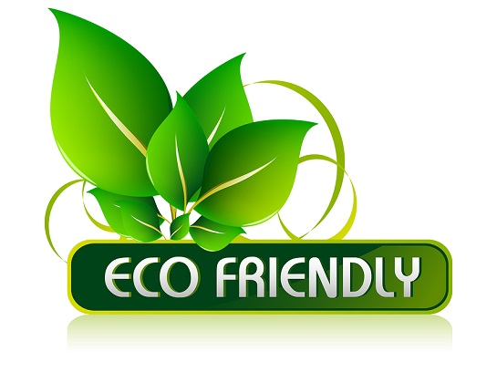 Eco friendly.