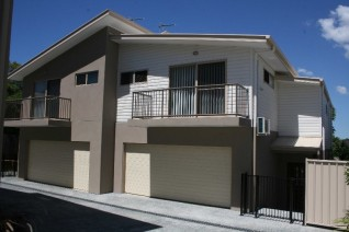 Vinyl cladding is a popular choice for house cladding.